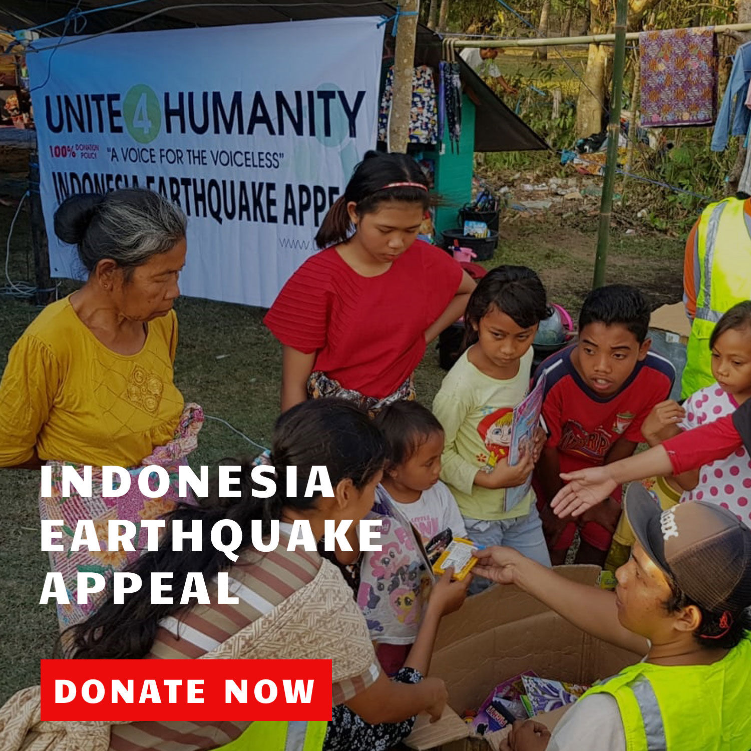 Indonesia Quake Appeal