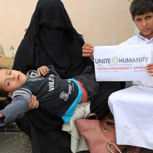 Donate Zakat for Yemen War Victims