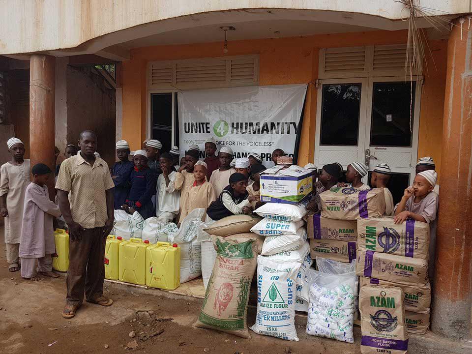 Sponsor Food Pack in Africa