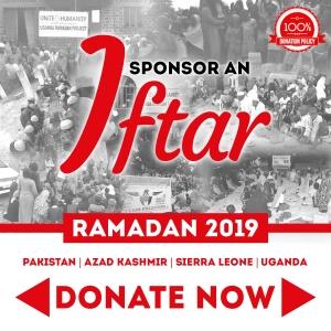 Sponsor Iftar Packs