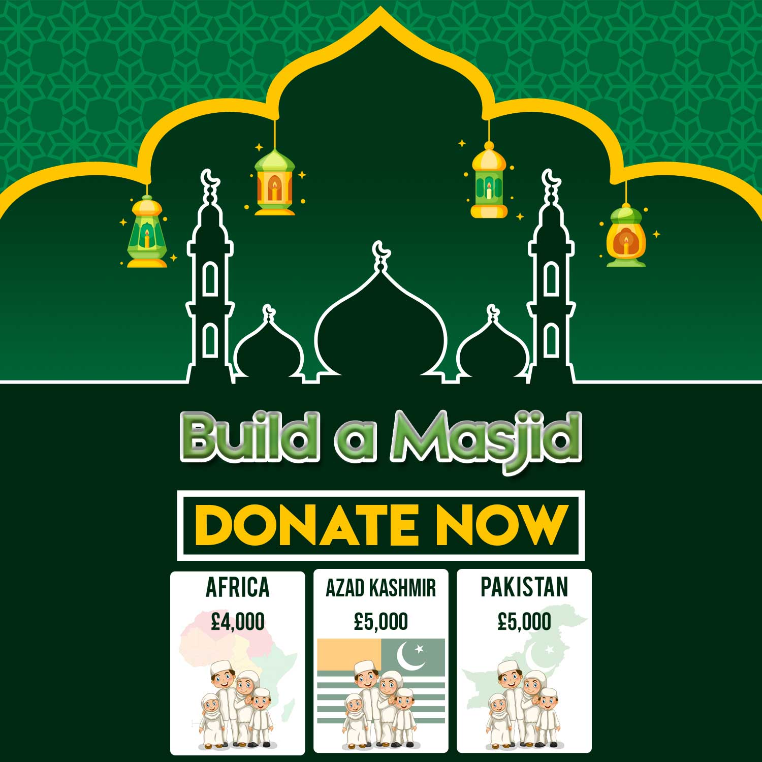 Sponsor Building of a Masjid