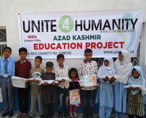 Donate for Kashmir Appeal Education Fund