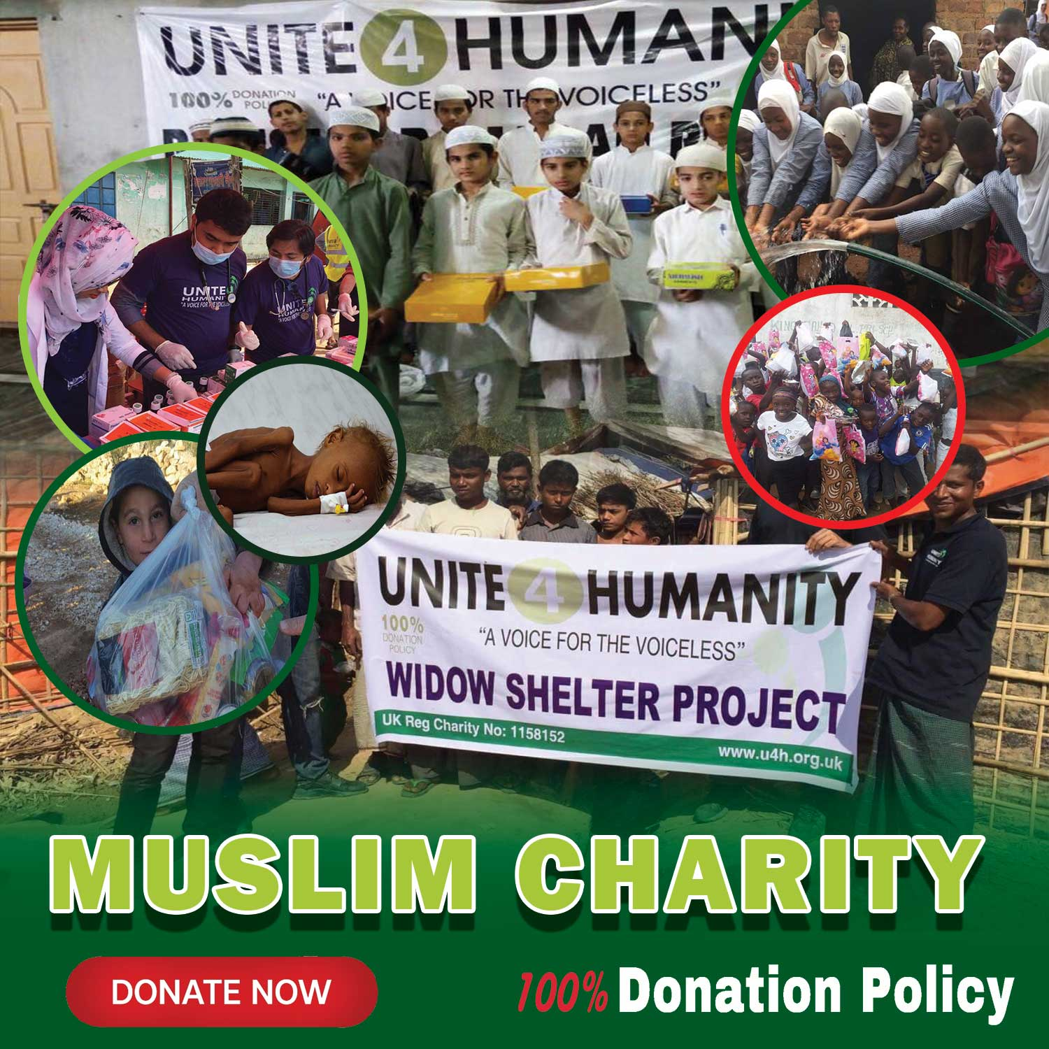 Unite 4 Humanity is a UK Islamic Charity