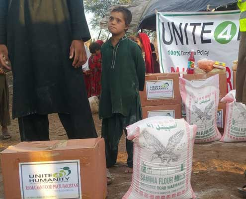 Donate a Food Pack in Pakistan