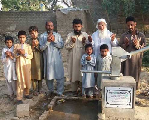 Sponsor a Water Well In Pakistan